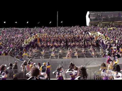 "Alcorn Sounds of Dyn-O-Mite Band performing ""Holidae Inn,"" by Chingy"
