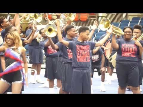 """Forest Hill High School """"Marching Patriots"""" 2017"""