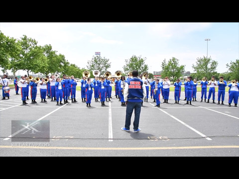 Hunters Lane High School Marching Band - Finesse - 2017