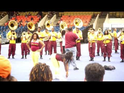 "Oakhaven H.S. ""Mighty Hawks Band"" slows it down at the JSU Jamboree"