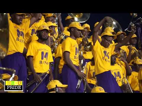 "Miles College  ""Purple Marching Machine"""
