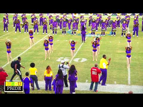 "Miles College ""Purple Marching Machine"" Halftime Show (FVSU 2017)"