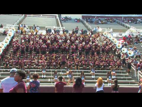 """AAMU Marching Maroon & White (2017) FAN DAY """"Wild Thoughts"""""""