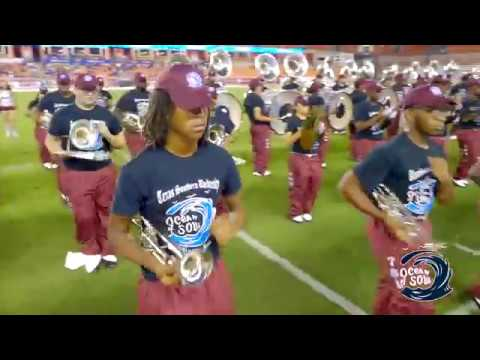 "TSU Ocean of Soul performing at HBU Game ""Houston Strong"" Show in UHD4k"