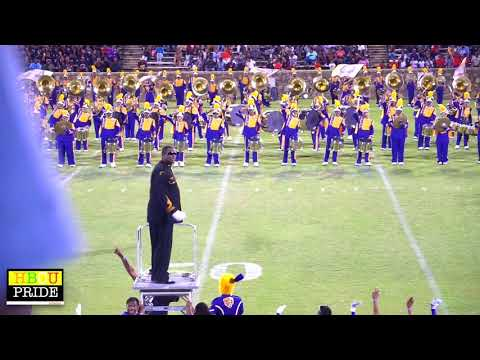 "Miles College ""Purple Marching Machine"" performing ""How Excellent"""