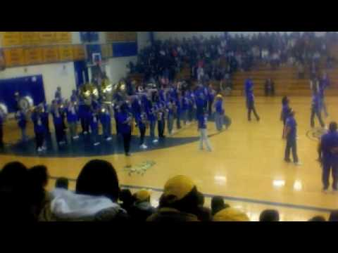 "Schlagle marching Band 2009-2010 - ""There goes my baby"""
