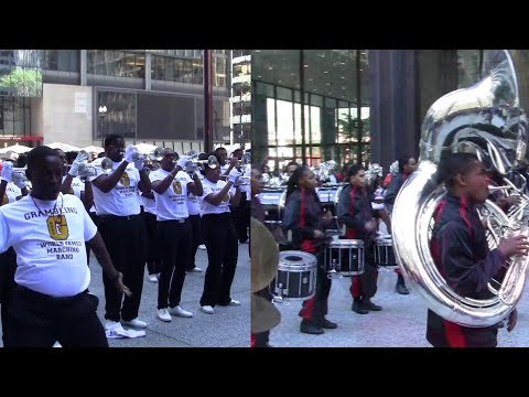 Grambling vs Clark Atlanta 2017 Battle of the Bands Chicago Football Classic