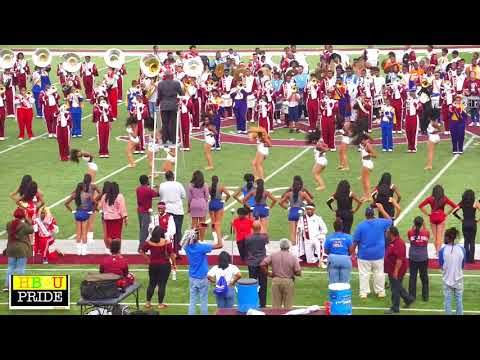 Alabama A&M University | Marching Maroon & White |  High School Band Day '17