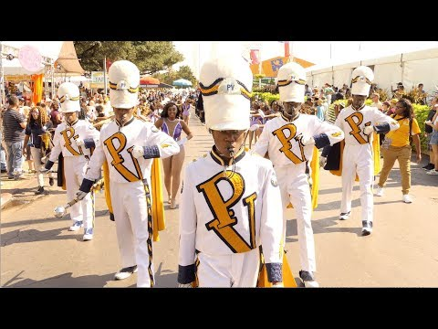 PVAMU Band Maching into State Fair Classic (2017) [4K]