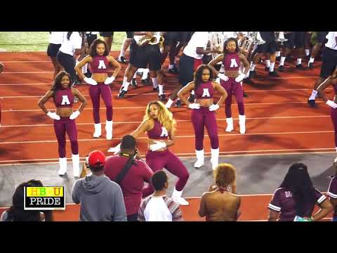 """Alabama A&M University """"Marching Maroon & White"""" performing """"BE HUMBLE"""""""