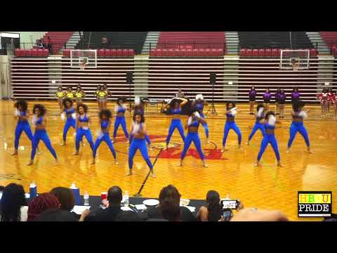 "Eastern High School ""Lady Gems"" performing their ""STANDs"" Performance"