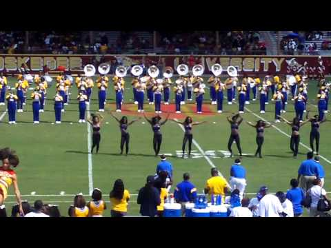 Albany State Halftime vs Tuskegee 2010