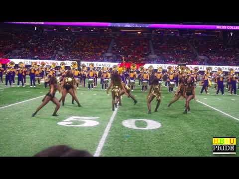 "Miles College ""Purple Marching Machine"" ft. The ""Golden Stars"" HONDA BOTB '18"