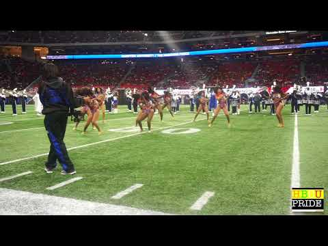 "Hampton University The ""Force"" Marching Band ft. ""Ebony Fire"" Honda BOTB 2018"