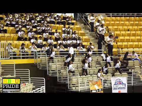 "Mighty Marching Hornets 2018 performing ""CREW"" at ASU vs. Southern B-Ball Game"