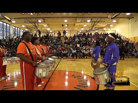 Julian vs Dunbar 2017 - Drumline Battle Windy City Rumble