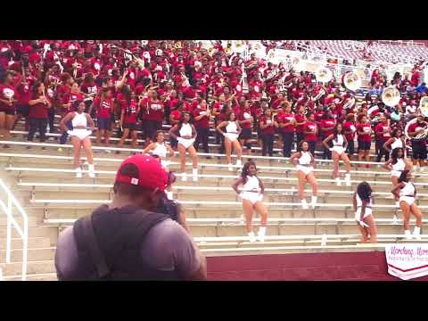 """2018 Marching Maroon & White 