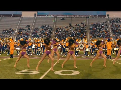 "Miles College ~Golden Stars~| ""Feel It Still"" Halftime @The Louis Crews Classic 2018"
