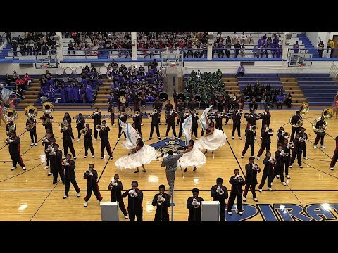 Oak Park High School Marching Band 2018 - East Battle of the Bands