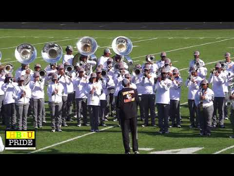 "Landry Walker Marching Band 2018 l  ""A.E.I.O.U"""