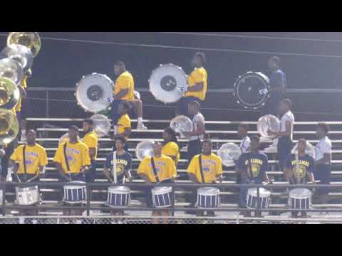 Stillman College Blue Pride Marching Band | Anniston Battle Of Bands | 2018 | Playing Neck |