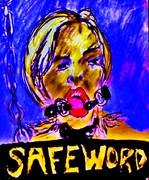safeword 14x17 pastel 2007