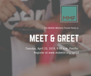 Mobile Ministry Forum Meet and Greet