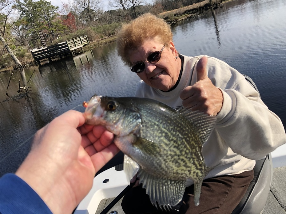 Just a Few Crappie Today......3/19/2019