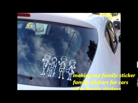 Family Stickers For Back Of Car