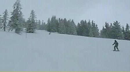 Me skiing in Powder - Ellmau, Austria 2010