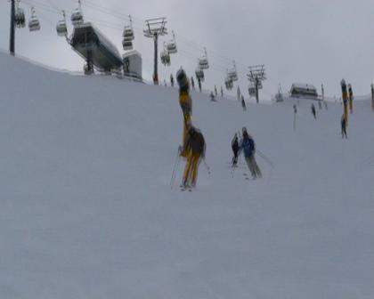 Me skiing in Solden - March 08