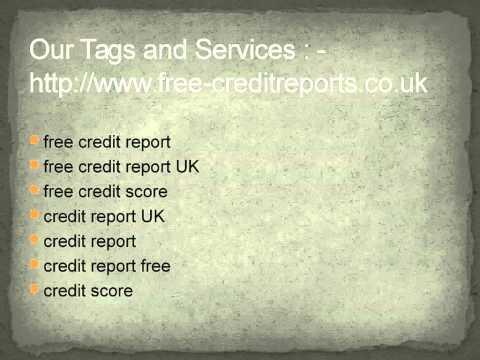 free credit score @ free-creditreports.co.uk