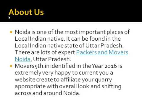 Always in Top in shifting services in noida @ movers5th.in