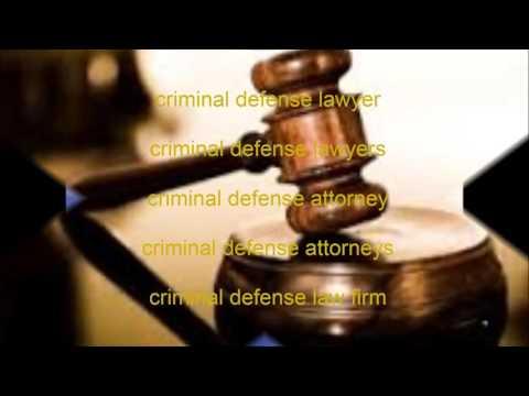 Criminal Defense Law firms