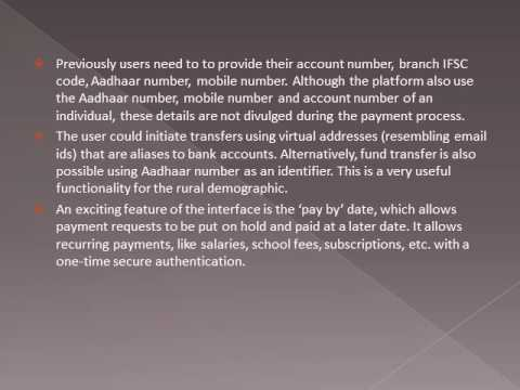 Unified Payment Interface - A Single Digital Wallet for Your Spends