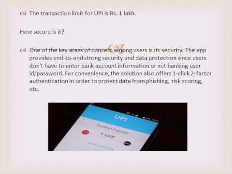 All you want to know about unified payment interface UPI