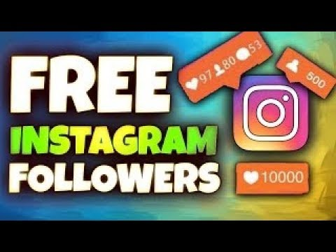 ⭐ Free Instagram Followers - How To Get Free Followers On Instagram [IOS/Android] 2017 ⭐