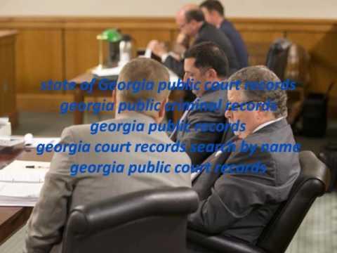 Georgia Public Criminal Records