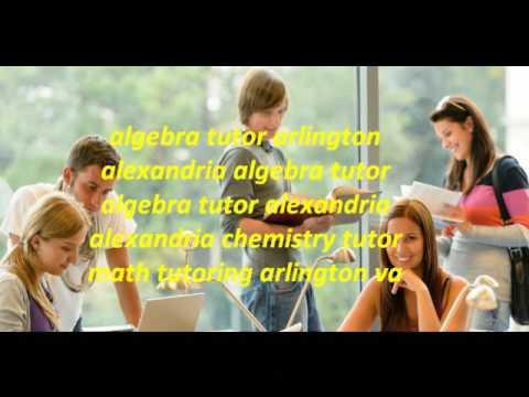 Alexandria Va Chemistry Tutor