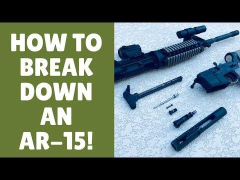 How To Field Strip An AR 15 (5 EASY Steps)