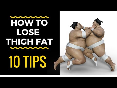 10 tips to help you reduce and burn thigh fat