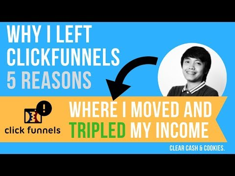 Why I Left Clickfunnels (5 Reasons) And How I Tripled My Income With This New Tool
