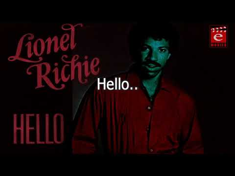 Hello Leonel Richi Video Song Lyrics | Lyrical Video Song | English Lyrical Song
