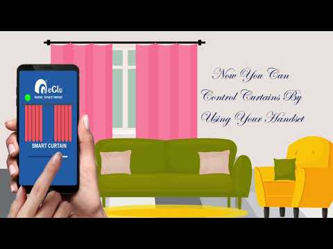 Now You Can Control Curtains By Using Your Handset By ClassicSmartSolutions