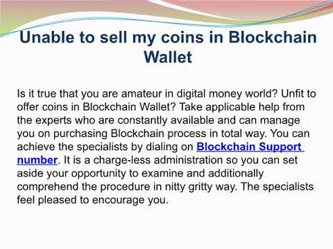 Blockchain Support Number 1-833-228-1682 For Blockchain Wallet  Top 3 Problems and Solution