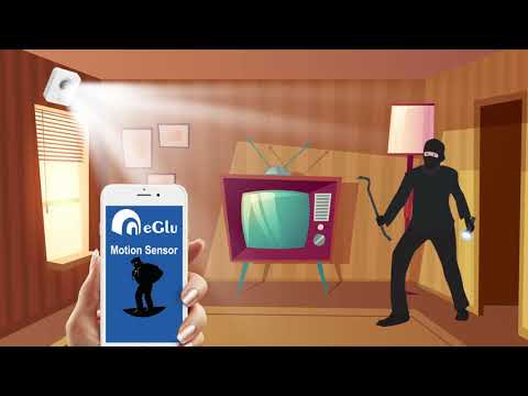 Feel Secure & Safe With Clear Protection With eGlu Motion Sensor By www.ClassicSmartSolutions.com