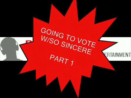 RAPHEAD.COM EXCLUSIVE VOTING W/SO SINCERE PART 1