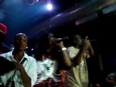 STREETRUNNERS PALLO ,BIGG EVIL PERFORMING IM BENT AT BYRDMAN B-DAY BASH