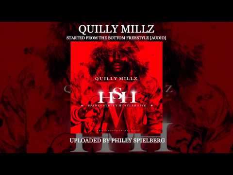 "[LEAK] Quilly Millz (@Darealquilly) - Started From The Bottom ""Freestyle"" [Audio] 2013"