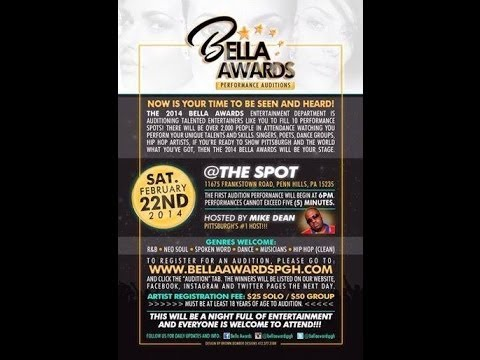 The Bella Awards Performanace Audtition